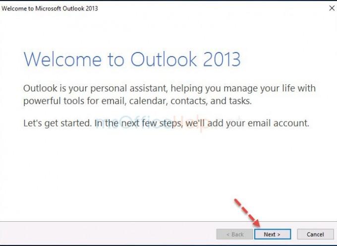 การตั้งค่า Microsoft Outlook กับ Hotmail แบบ POP3