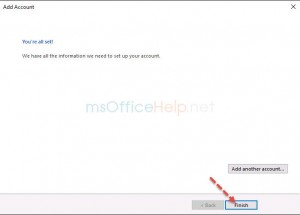 outlook set hotmail pop3